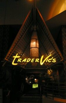 Trader Vic's - How I miss this place.  But you can still see the old staff in the newer version inside the Beverly Hilton...but its nothing compared to what this great room had to offer its guests.  So sad that they closed it up.
