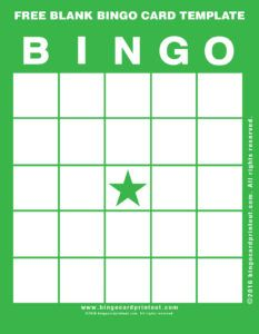 12 best free blank bingo card template images on pinterest bingo free blank bingo card template 4 maxwellsz