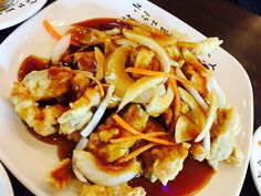 """탕수육 덕후인 내가 구리까지 가서 먹은 """"류차이"""" 탕수육 !! 소스가 특이하고 깊은 맛! so delicious ~~!"""