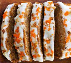 Karottenkuchen-Bananen-Brot Deliciously soft and moist homemade carrot cake banana bread, perfect fo Carrot Banana Cake, Homemade Carrot Cake, Healthy Carrot Cakes, Healthy Dessert Recipes, Vegan Desserts, Baking Recipes, Desserts Sains, Dessert Blog, Vegan Bread
