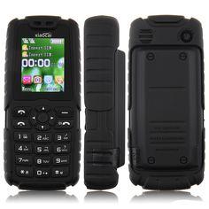 "New Cheap Unlocked Outdoor Mobile Phone Keyboard  Xiaocai X6 1.8inch Screen Big Battery 5000mah GSM Russian Free Shipping $<span itemprop=""lowPrice"">34.99</span> - <span itemprop=""highPrice"">46.99</span> Big Battery, Cheap Phones, Waterproof Phone, Walkie Talkie, Keyboard, Free Shipping, Outdoor, Outdoors, Outdoor Games"
