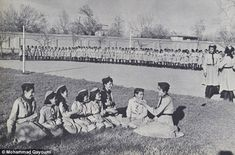 WHEN WOMEN LIVED FREE IN AFGHANISTAN BEFORE THE TALIBAN - Happier times: Afghan women taking part in a Scout scheme