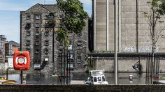 Bolands Mills - Dublin Docklands. So many old buildings mixed in with the new to contrast.