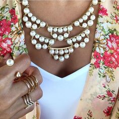 Frances Pearl necklace from Stella & Dot.  Love this one!  Use the link in my profile to shop!