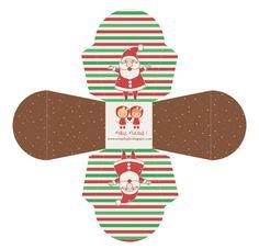 Christmas box free printable