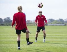 GALLERY: WNT Completes Afternoon Training After Morning Weight Lifting Session - U.S. Soccer