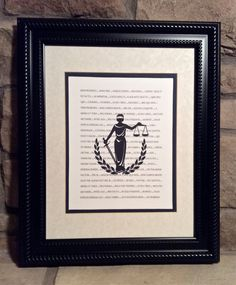 Attorney  Lawyer Gift  Set of 4 Prints   Scales by MusicLadyGifts