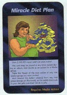 Illuminati card game - Miracle Diet