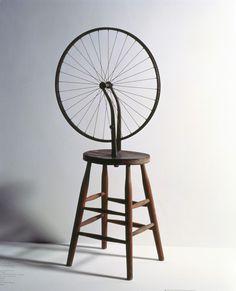 Marcel Duchamp Bicycle Wheel, 1963 Private Collection of Richard Hamilton, Henley-on-Thames Alfred Stieglitz, Max Ernst, Man Ray, Marcel Duchamp Bicycle Wheel, Marcel Duchamp Artwork, Duchamp Readymade, Brancusi Sculpture, Avant Garde Artists, Alexander Calder