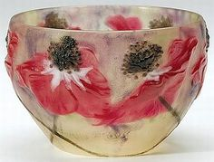 Gabriel Argy Rousseau: Pate-de-verre bowl