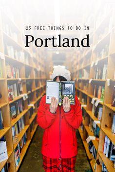 25 Free Things to Do in Portland Oregon // localadventurer.com