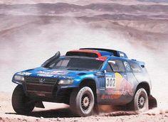 VW Touraeg, conquer of the Dakar Rally. #illustration #Volkswagen #Touraeg #dakar2016