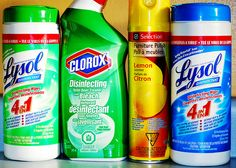 Cleaning Supplies and Your Health