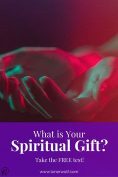 What is your spiritual gift? Spiritual gifts are talents, abilities and powers that are given to us by Life, God/Goddess or Spirit. This is a powerful but simple test that will help you discover yours.