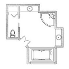 1000 Images About Bathroom Floor Plans On Pinterest