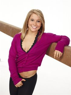 "Shawn Johnson | Gymnast..USA Olympic Gold Medalist For ""All-Around"" In the 2008 Games...Winner of ""Dancing With the Stars,"" And Popular Sports Star and Nice Gal For The Ages...Johnson Is A Winner!!"