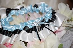 Alice in Wonderland Themed Garter by UniquelyYoursBridal on Etsy, $23.00