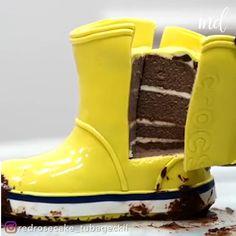 Fun Baking Recipes, Cake Recipes, Dessert Recipes, Cake Decorating Videos, Cake Decorating Techniques, Creative Cakes, Creative Food, Beautiful Cakes, Amazing Cakes