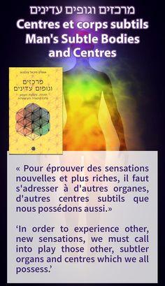 """Hebreu - Nouvelle parution du co-éditeur Hadkeren : """"Centres et corps subtils : aura, plexus solaire, centre hara, chakras... """" / Hebrew - New release by co-publisher Hadkeren: 'Man's Subtle Bodies and Centres' Link: http://hadkeren.co.il/product/casc-aivanhov Français : http://www.prosveta.com/api/product/P0219FR English: http://www.prosveta.com/api/product/P0219AN L'image contient peut-être : texte"""