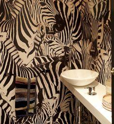 zebra stripes | via Small & Fabulous ~ Cityhaüs Design