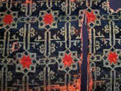 Anatolian Seljuk rug, 13th century, Konya, Turkey. TIEM, inv. no: 685