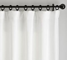 Find Belgian linen curtains from Pottery Barn and dress up your windows in style. Our collection features expertly crafted Belgian linen drapes and window panels. Grey Blackout Curtains, Sheer Linen Curtains, Dark Curtains, Striped Curtains, Grommet Curtains, Bedroom Curtains, Bedroom Decor, Bedroom Ideas, Curtains Living