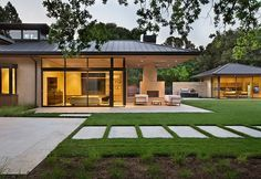 San Francisco – based Arcanum Architecture recently designed this modern single family house situated in California.