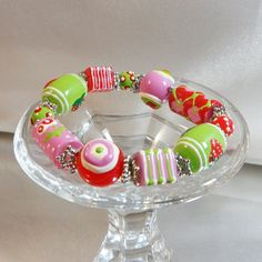 waalaa -  Gorgeous affordable Jewellery.  Beautiful strawberry bracelet - looks good enough to eat!