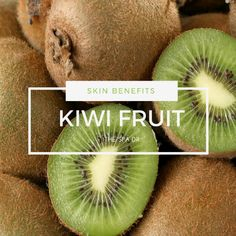 Kiwi pulp contains natural alpha hydroxyl acids which help fight skin bacteria and decongest pores