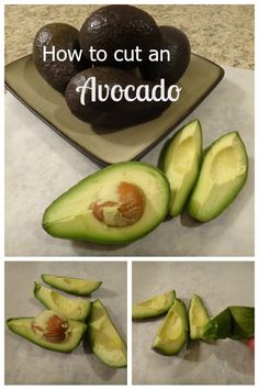 how to cut avocado nicely