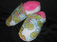 Paisley Butterfly Slippers