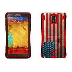 Beyond Cell Tri Shield Hybrid Deksel til Samsung Galaxy Note 3 - American Flag