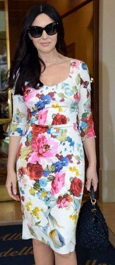 Monica Bellucci in Dolce & Gabbana 2013