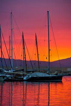 Alghero Sunset, Sardinia, Italy #Beautiful #Places #Photography