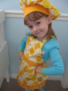 tidbits: Child's Apron Tutorial