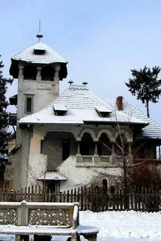To answer the question of what is art history, we Amazing Architecture, Architecture Details, Landscape Architecture, Different Architectural Styles, Hip Roof, Witch House, Bucharest, Types Of Houses, Building A House