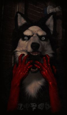 """I love this mask so much! Its light, and comfortable. It's probably the most comfortable masks I've ever made! for those that don't know, this mask is based off the creepypasta """"Smiledog"""".&nb..."""