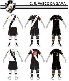 CBF cataloga uniformes de 144 clubes brasileiros; veja os do Vasco - NETVASCO