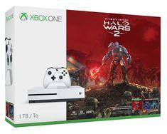 New Microsoft Xbox One S Halo Wars 2 Bundle 1TB White Console + Extra Controller #Microsoft