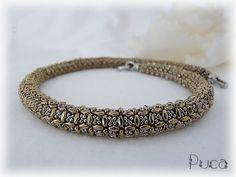 """Schéma ...Collier et bracelet """" Lisa"""" de Les perles de Puca sur DaWanda.com"""