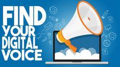 Find your digital voice on LinkedIn!