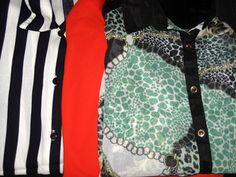 Second hand is a mine treasures :) (shirts)