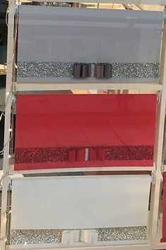 Glitter Bow Diamante Sparkle Roller Blind FREE Made To Measure