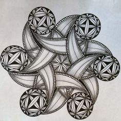 Better Late than Never – Tangled Up In Art Doodle Art Drawing, Zentangle Drawings, Mandala Drawing, Zentangle Patterns, Zentangles, Mandala Art Lesson, Mandala Doodle, Mandala Artwork, Doodle Art Designs