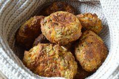Glutenfri boller med hørfrø og gulerødder (LCHF) | My Secret Food