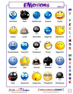 Emotional development by leahelhindi on Pinterest | Teaching Emotions ...