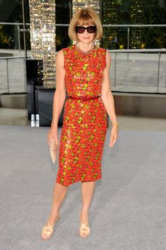 Anna Wintour at the CFDA Awards in New York.