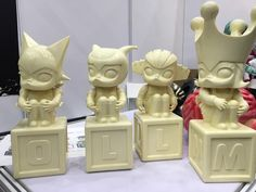"Kenny Wong Go Nagai Unbox Industries's ""Molly"" Prototypes Revealed!"