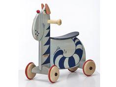 Spielzeug - JANOSCHIK Rutschtier Katze 118F - ein Designerstück von Janoschik bei DaWanda