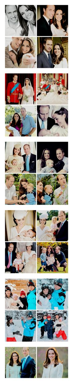 Official Photos of The Duke and Duchess of Cambridge and their children Prince George and Princess Charlotte William Harry, Prince William And Catherine, Prince William And Kate, Lady Diana, Princesse Kate Middleton, Kate Middleton Prince William, George Of Cambridge, Duchess Of Cambridge, Duchess Kate